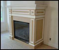 Handcrafted Fireplace
